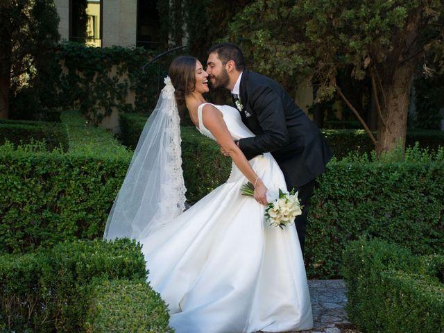 La boda de Sergio y Estefania en Quintanilla De Onesimo, Valladolid 30