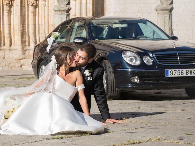 La boda de Sergio y Estefania en Quintanilla De Onesimo, Valladolid 32