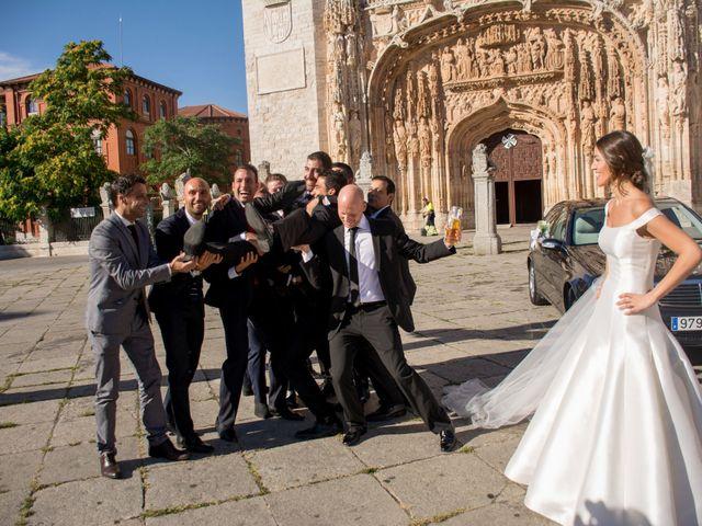 La boda de Sergio y Estefania en Quintanilla De Onesimo, Valladolid 33