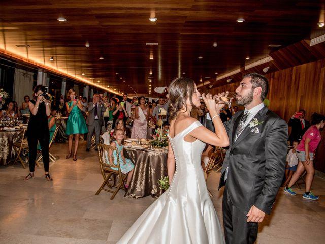 La boda de Sergio y Estefania en Quintanilla De Onesimo, Valladolid 43