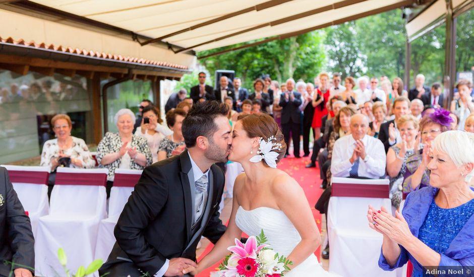 La boda de Arkaitz y Beatriz en Loiu, Vizcaya
