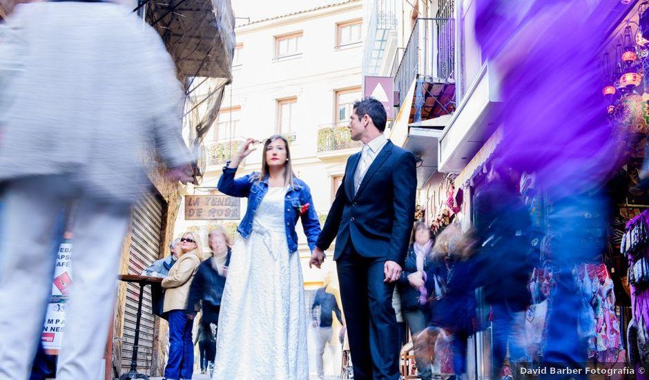 La boda de David y Inma en El Puig, Valencia