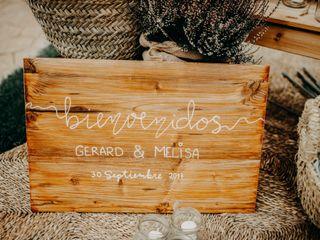 La boda de Melisa y Gerard 2