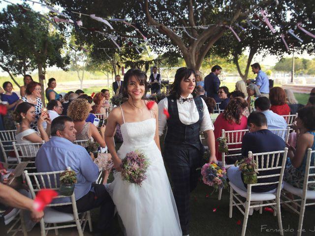 La boda de Patricia y Alicia en Daya Vieja, Alicante 14