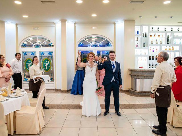 La boda de Pedro y Noelia en Santa Amalia, Badajoz 13