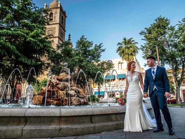 La boda de Pedro y Noelia en Santa Amalia, Badajoz 15