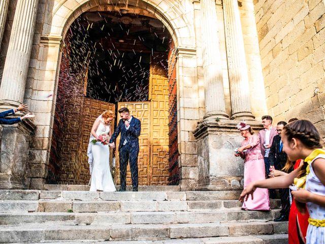 La boda de Pedro y Noelia en Santa Amalia, Badajoz 16