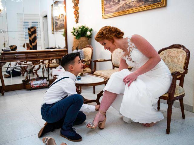 La boda de Pedro y Noelia en Santa Amalia, Badajoz 23