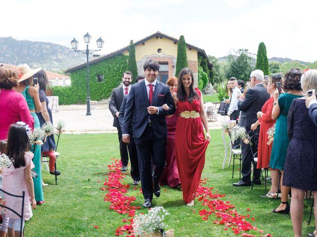 La boda de Javier y Clara en Collado Villalba, Madrid 35