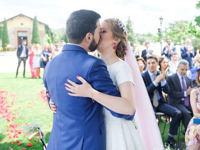 La boda de Javier y Clara en Collado Villalba, Madrid 64