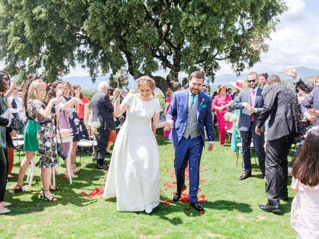 La boda de Javier y Clara en Collado Villalba, Madrid 65
