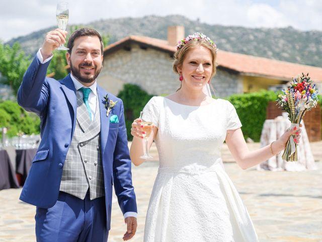 La boda de Javier y Clara en Collado Villalba, Madrid 67