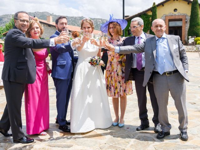La boda de Javier y Clara en Collado Villalba, Madrid 68