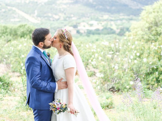 La boda de Javier y Clara en Collado Villalba, Madrid 70