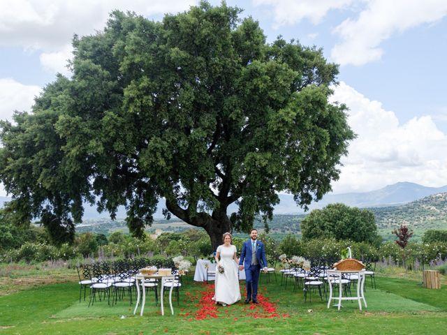 La boda de Javier y Clara en Collado Villalba, Madrid 77