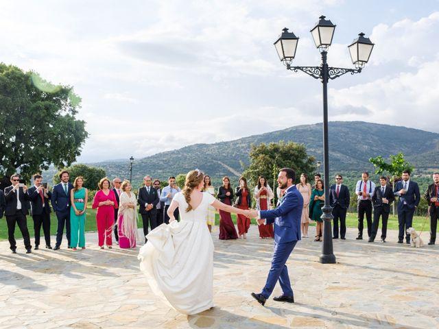 La boda de Javier y Clara en Collado Villalba, Madrid 97