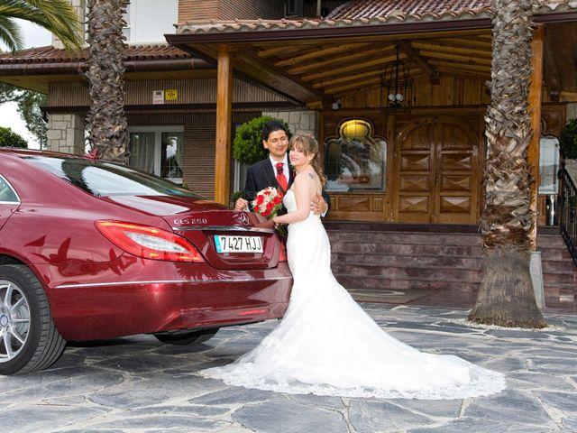 La boda de Luis Eduardo y Patricia en Cubas De La Sagra, Madrid 16