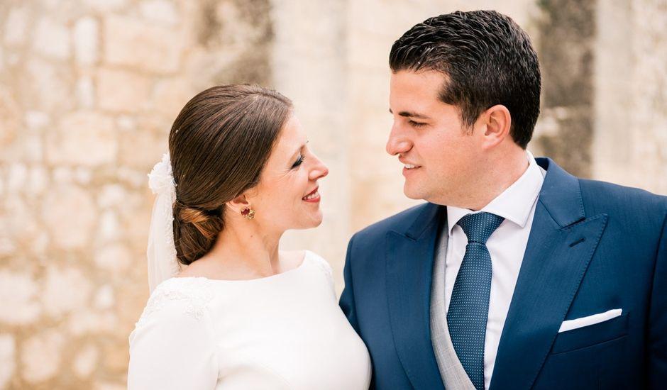 La boda de Cristo y Irene en Estepa, Sevilla
