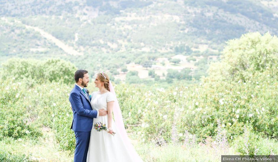 La boda de Javier y Clara en Collado Villalba, Madrid