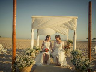 La boda de Alba y Maria del  Carmen 1