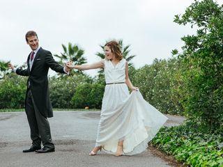 La boda de Pauline y Aquilino