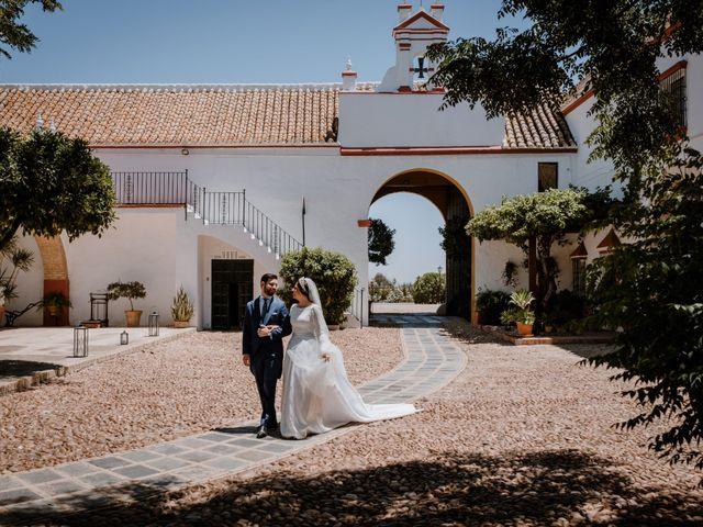 La boda de Fran y Cristina en Carmona, Sevilla 35