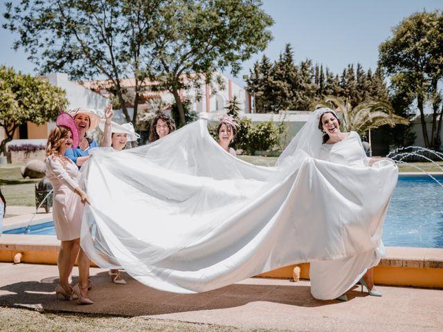 La boda de Fran y Cristina en Carmona, Sevilla 46