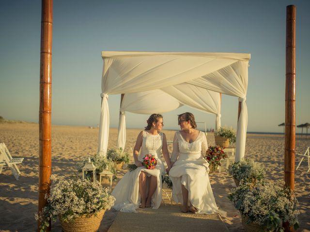 La boda de Maria del  Carmen y Alba en Zahara De Los Atunes, Cádiz 3