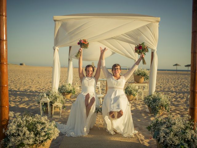 La boda de Maria del  Carmen y Alba en Zahara De Los Atunes, Cádiz 4