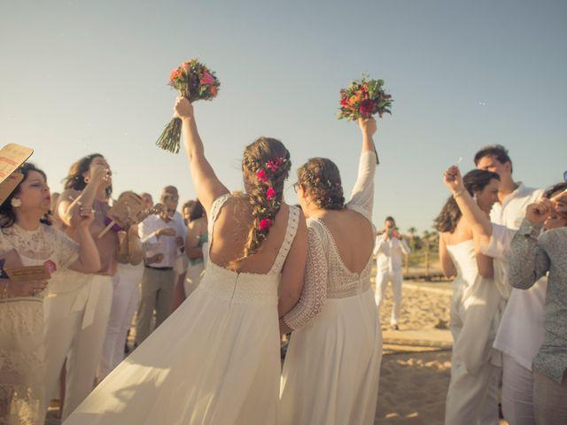 La boda de Maria del  Carmen y Alba en Zahara De Los Atunes, Cádiz 32