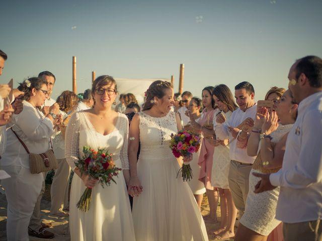La boda de Maria del  Carmen y Alba en Zahara De Los Atunes, Cádiz 34