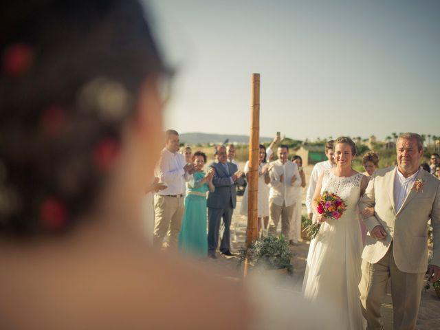 La boda de Maria del  Carmen y Alba en Zahara De Los Atunes, Cádiz 49