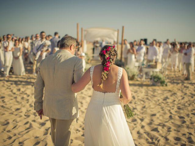 La boda de Maria del  Carmen y Alba en Zahara De Los Atunes, Cádiz 50
