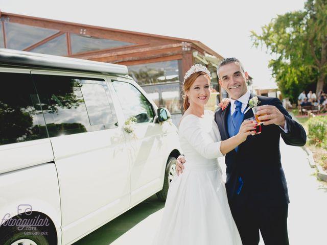 La boda de Kelly Martín Negrillo y Rubén García Santamaría