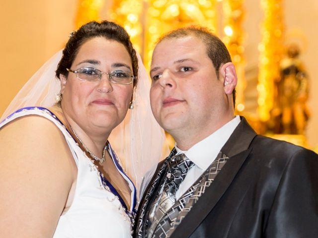 La boda de VICTOR y REBECA en Callosa De Segura, Alicante 1