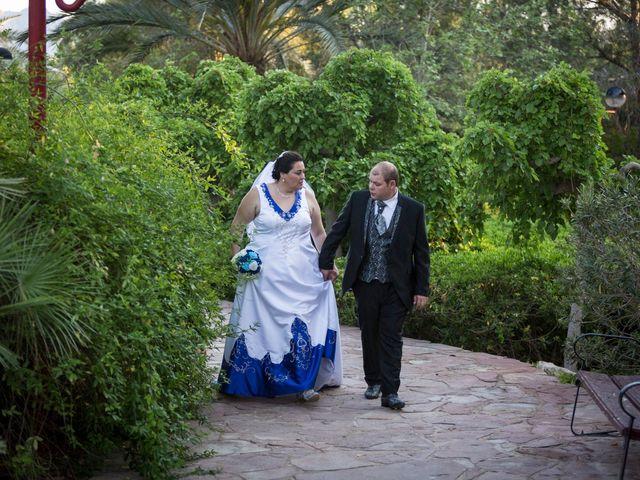 La boda de VICTOR y REBECA en Callosa De Segura, Alicante 54