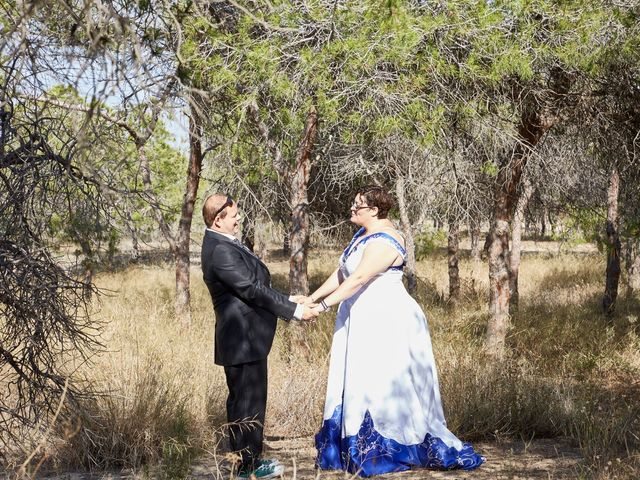 La boda de VICTOR y REBECA en Callosa De Segura, Alicante 96