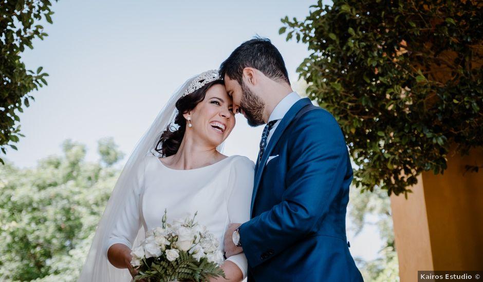 La boda de Fran y Cristina en Carmona, Sevilla