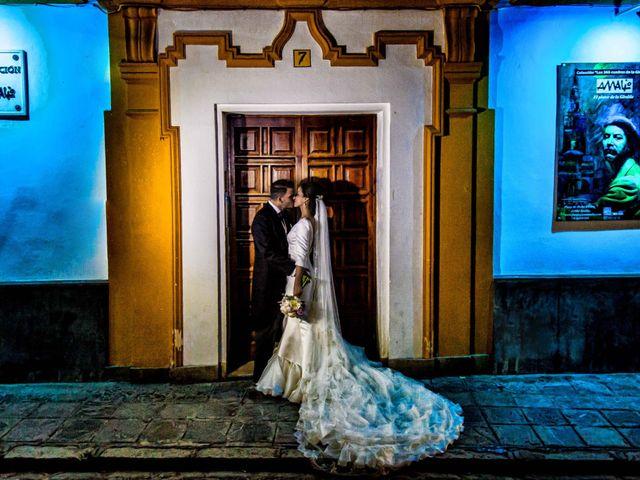 La boda de Alejandro y Rocío en Sanlucar La Mayor, Sevilla 2