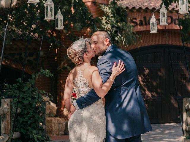 La boda de Alejandro y Diana en Piedrabuena, Ciudad Real 105