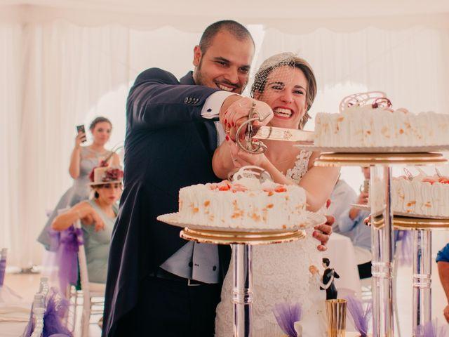 La boda de Alejandro y Diana en Piedrabuena, Ciudad Real 158