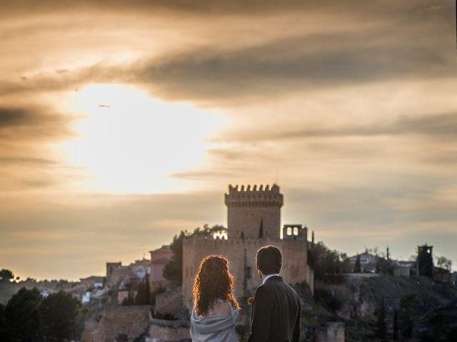 La boda de Luisma y Noelia en Alarcon, Cuenca 9