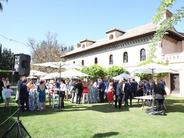 La boda de Rubén y Chusi en Granada, Granada 16