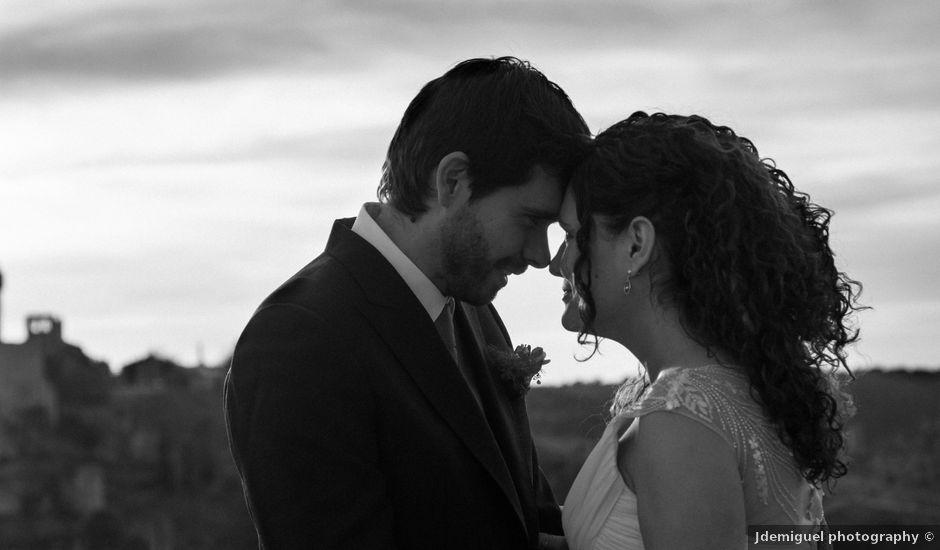 La boda de Luisma y Noelia en Alarcon, Cuenca