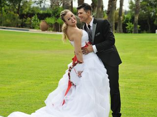 La boda de Olympia y Armando