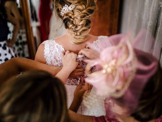 La boda de Javi y Estela en Alia, Cáceres 1