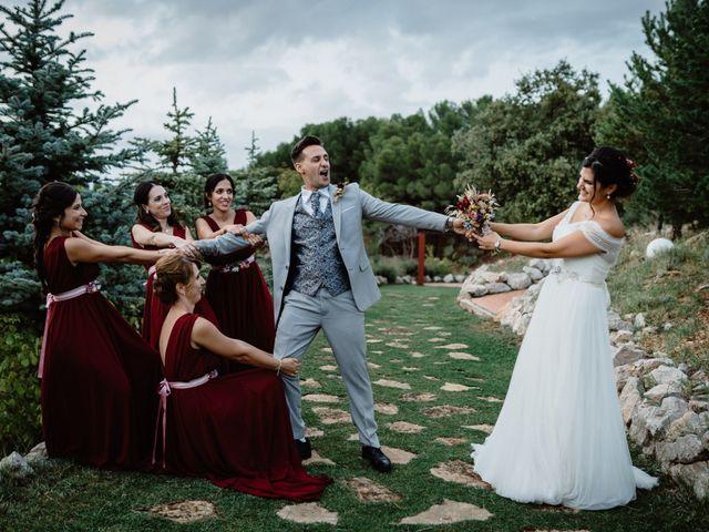 La boda de Estrober y Natalia en Tarancon, Cuenca 36