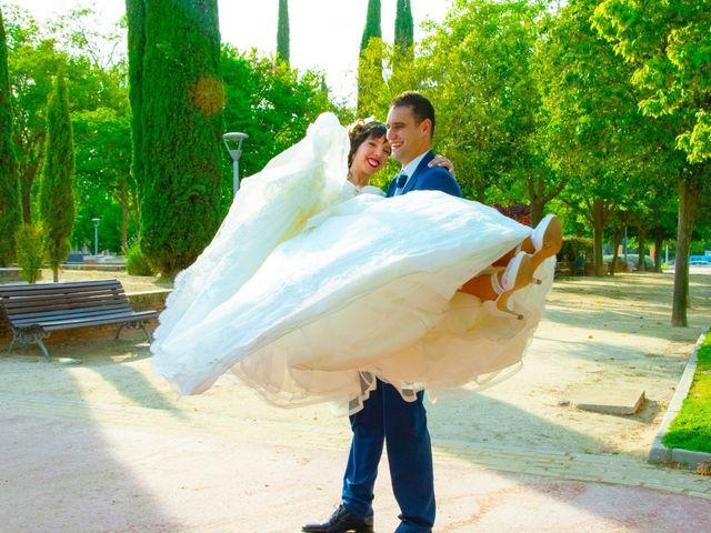 La boda de Fran y Pamela en Brunete, Madrid 26