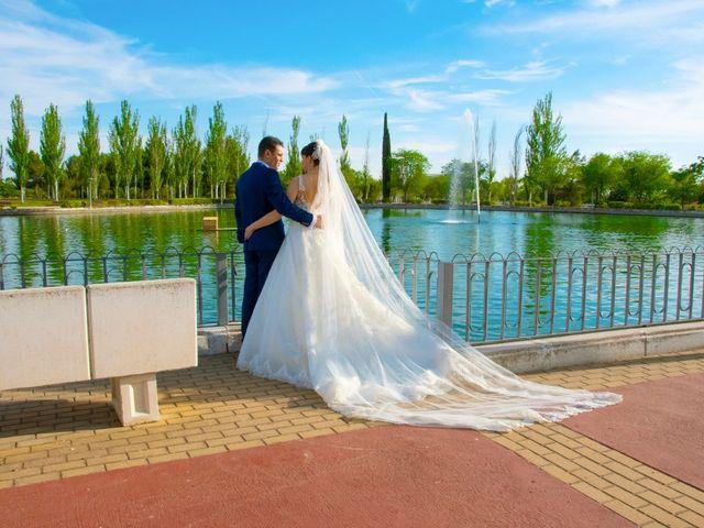 La boda de Fran y Pamela en Brunete, Madrid 27