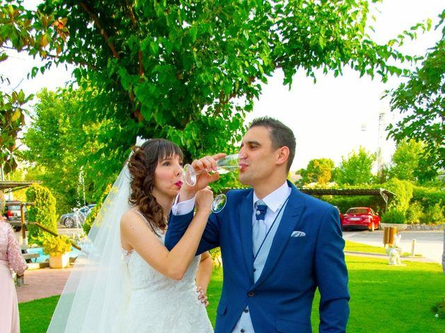 La boda de Fran y Pamela en Brunete, Madrid 34